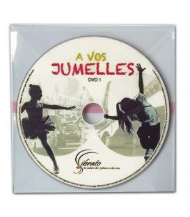 CD impression thermique couleur en pochette plastique transparente