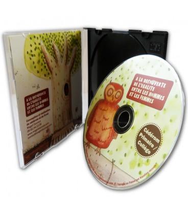 Duplication CD en boitier DVD Slimbox
